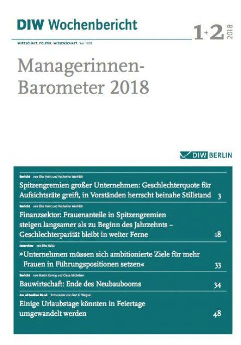 Managerinnen-Barometer 2018