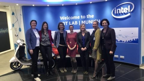 LEADING WOMEN Lunch bei Intel