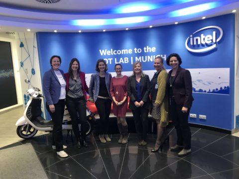 LEADING WOMEN Lunch bei Intel