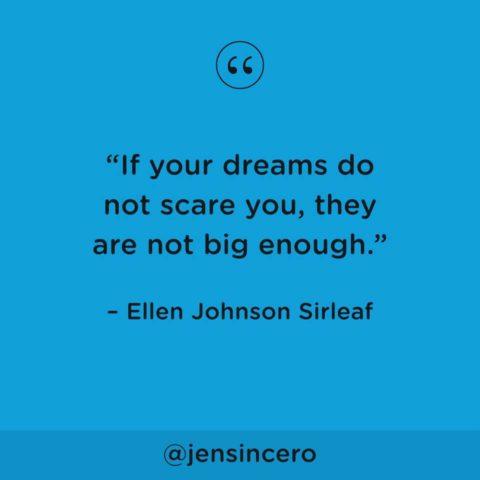 Sind unsere Träume groß genug